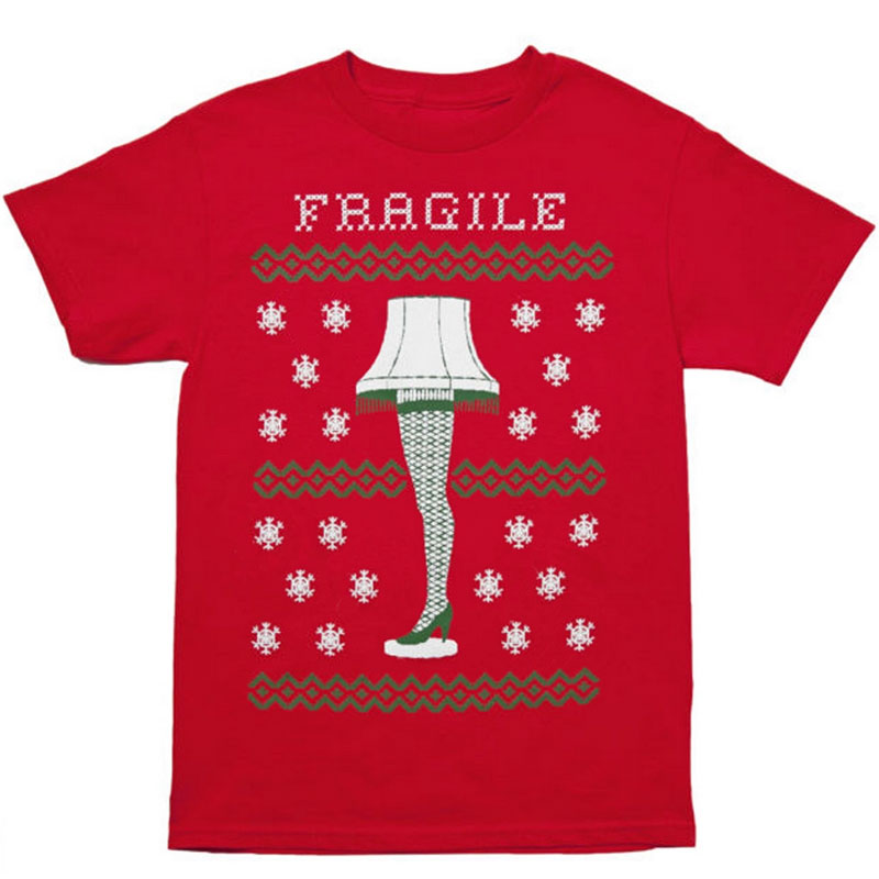 Gag Gifts - Christmas Story: Leg Lamp T-Shirt
