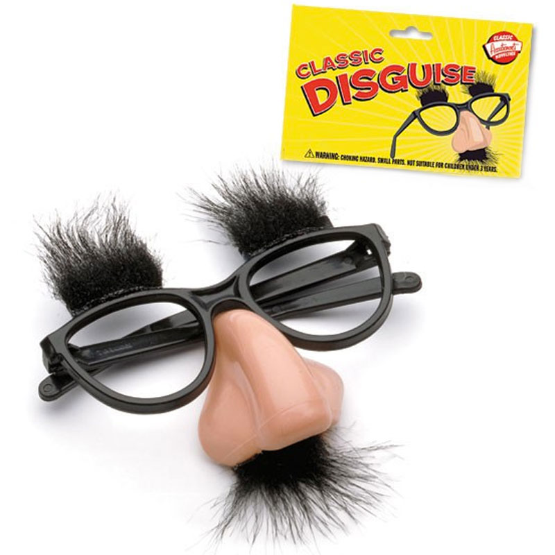 Gag Gifts - Classic Disguise Kit