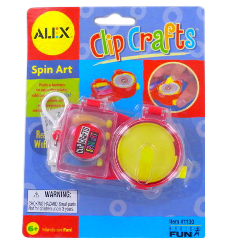 Gag Gifts - Clip Crafts: Spin Art Kit