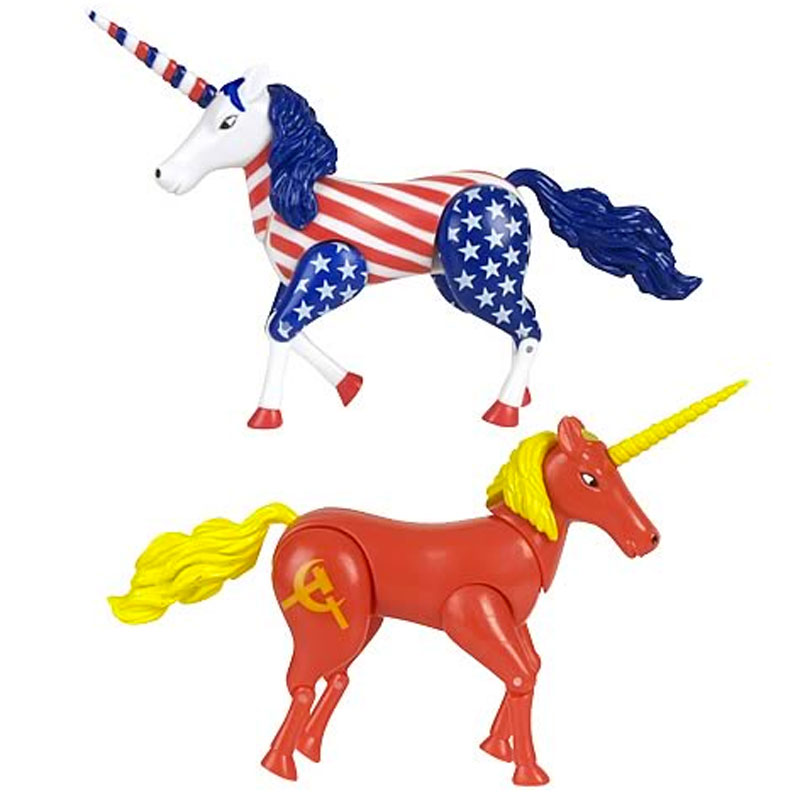 Gag Gifts - Cold War Unicorns Playset