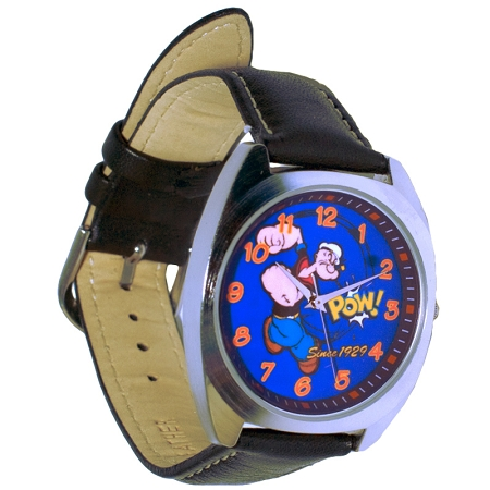 Gag Gifts - Collectible 75th Anniversary Popeye Watch