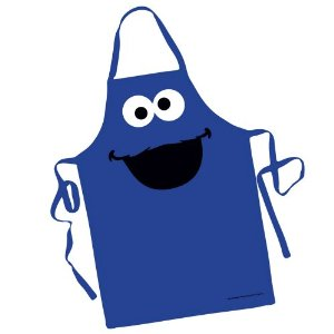 Gag Gifts - Cookie Monster Character Apron