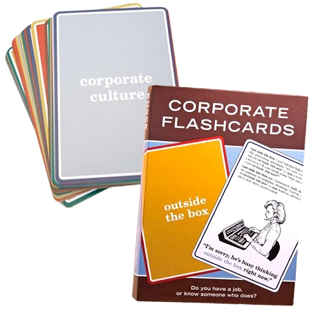 Gag Gifts - Corporate Lingo Flashcards