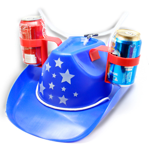 Gag Gifts - Cowboy Drinking Hat