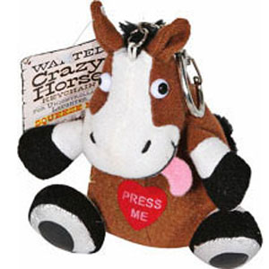 Gag Gifts - Crazy Horse Keychain