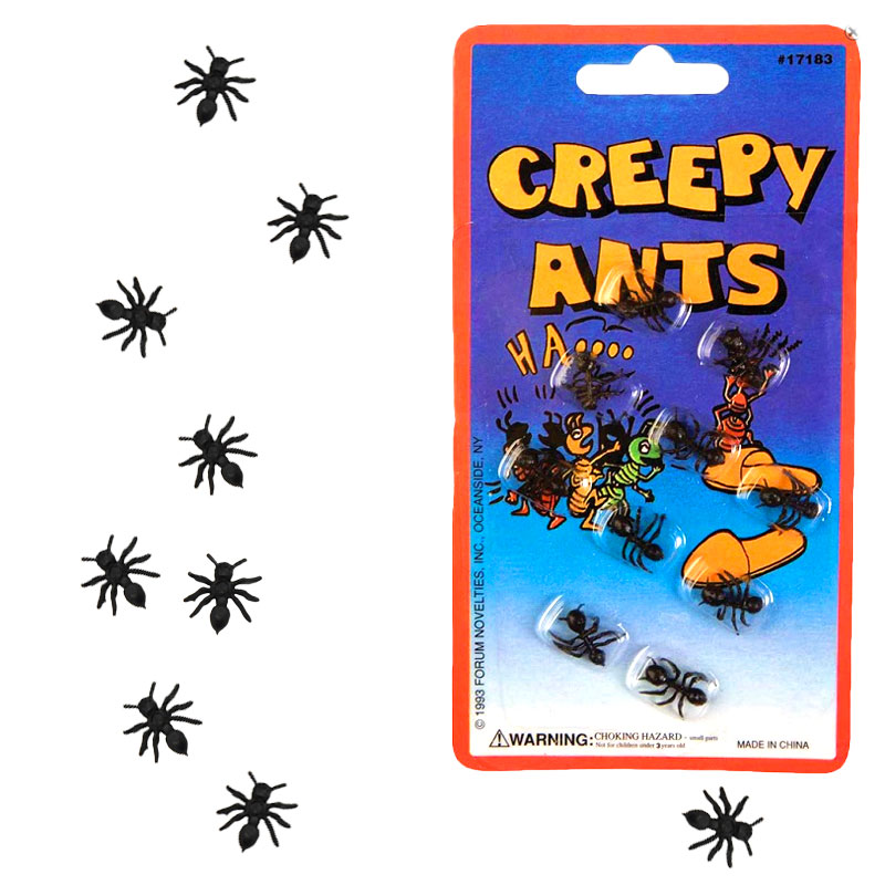 Gag Gifts - Creepy Ants Prank