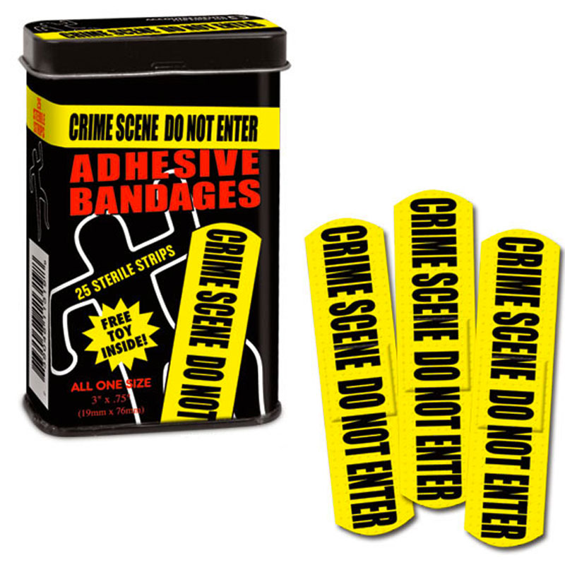 Gag Gifts - Crime Scene Bandages