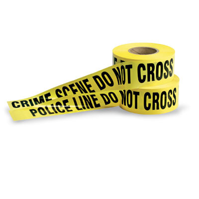 Gag Gifts - Crime Scene Tape - 50 Ft. Roll
