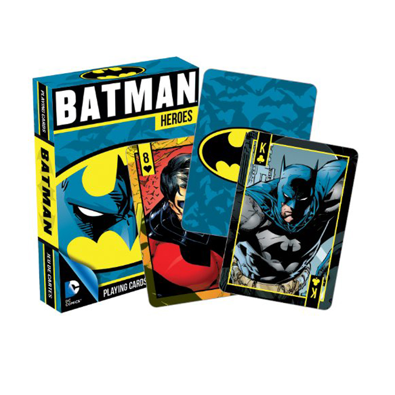 Gag Gifts - DC - Batman Heroes Playing Cards