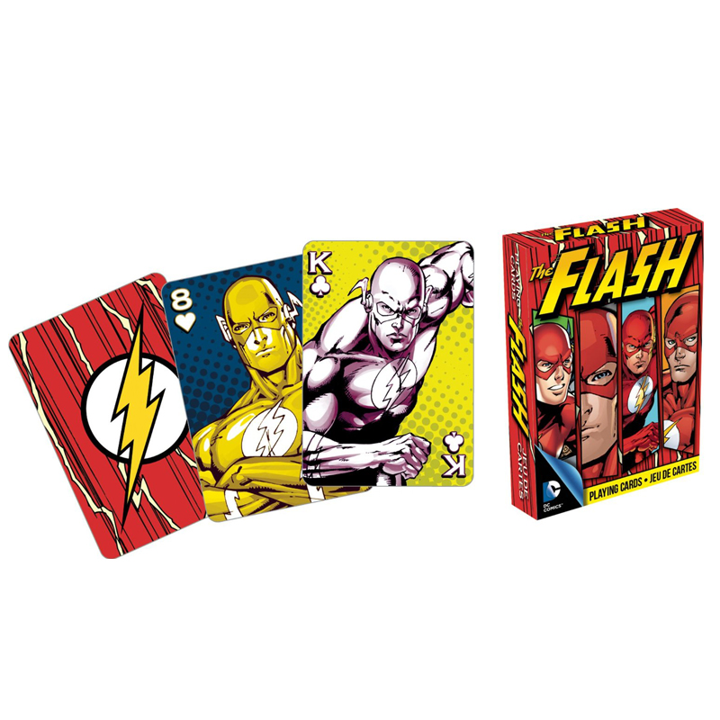 Gag Gifts - DC - Flash Playing Cards