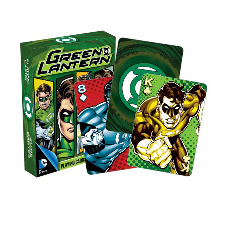 Gag Gifts - DC - Green Lantern Playing Cards