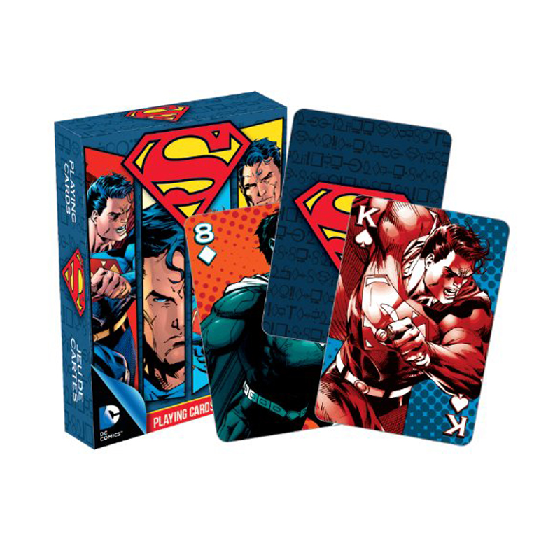 Gag Gifts - DC - Superman Playing Cards