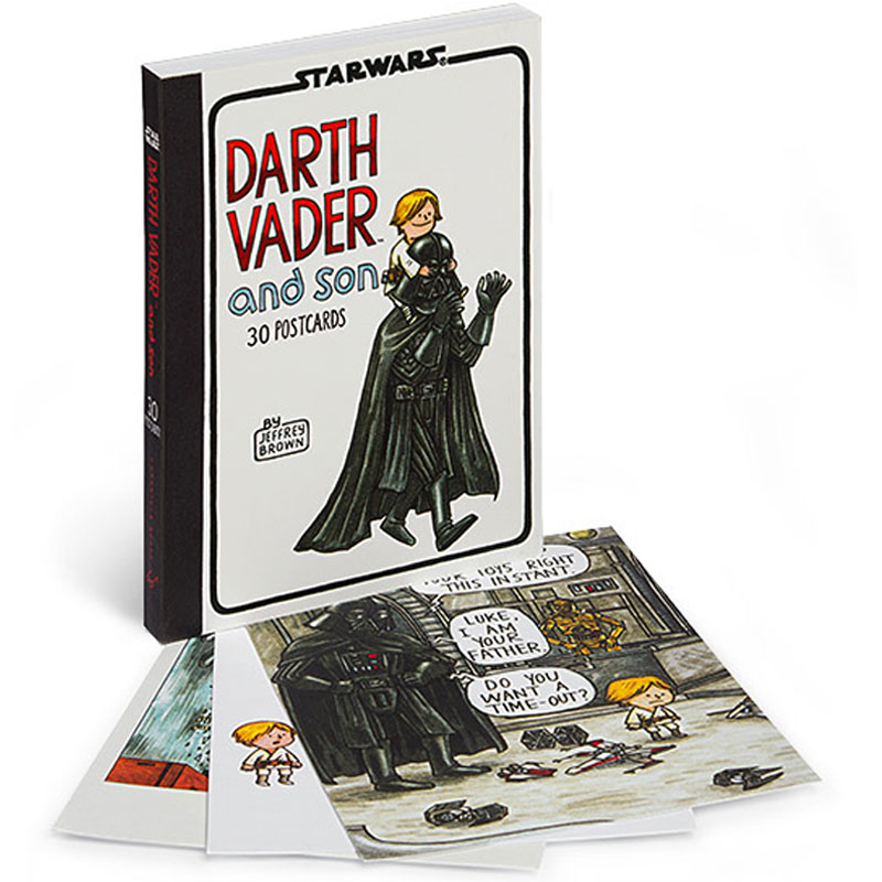 Gag Gifts - Darth Vader and Son Postcards