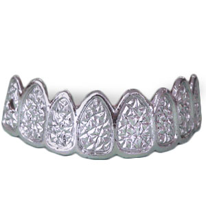 Gag Gifts - Diamond and Platinum Grill