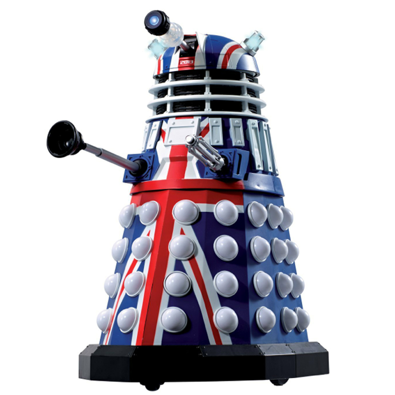 Gag Gifts - Doctor Who: 50th Anniversary (British Flag) Dalek