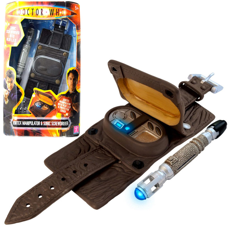 Gag Gifts - Doctor Who: Captain Jack's Vortex Manipulator and Mini Sonic Screwdriver
