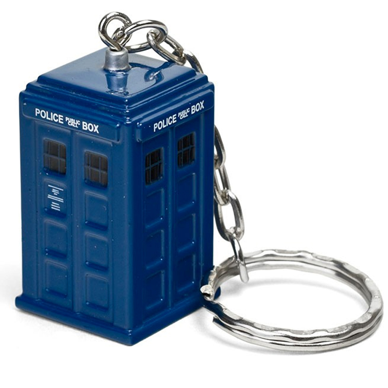 Gag Gifts - Doctor Who: Die Cast Tardis Keychain