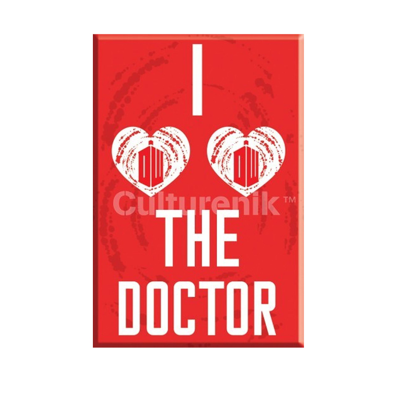 Gag Gifts - Doctor Who: I Heart the Doctor Car Magnet