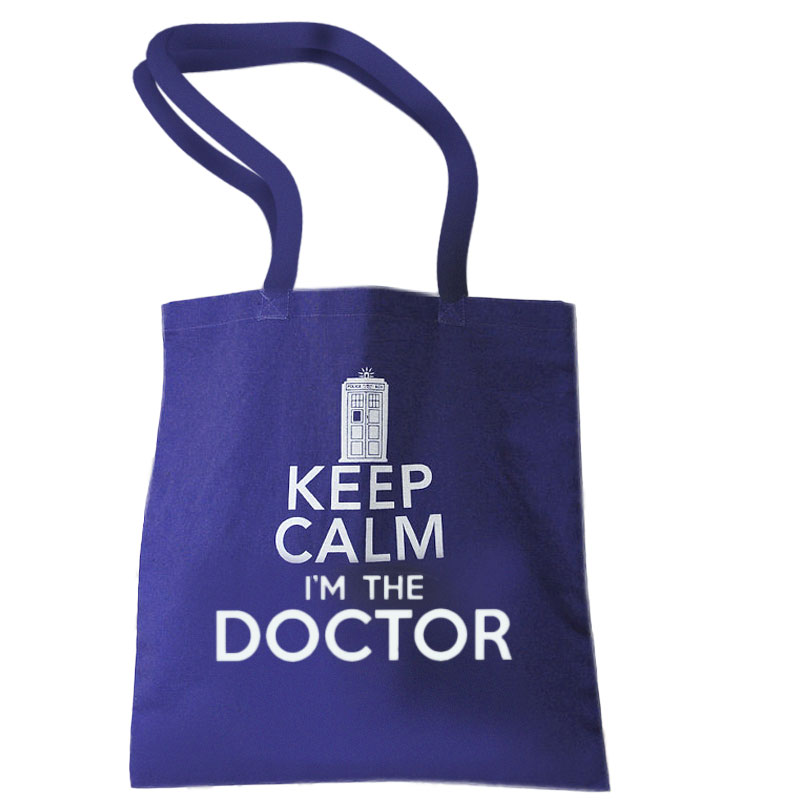 Gag Gifts - Doctor Who: Keep Calm Tote Bag