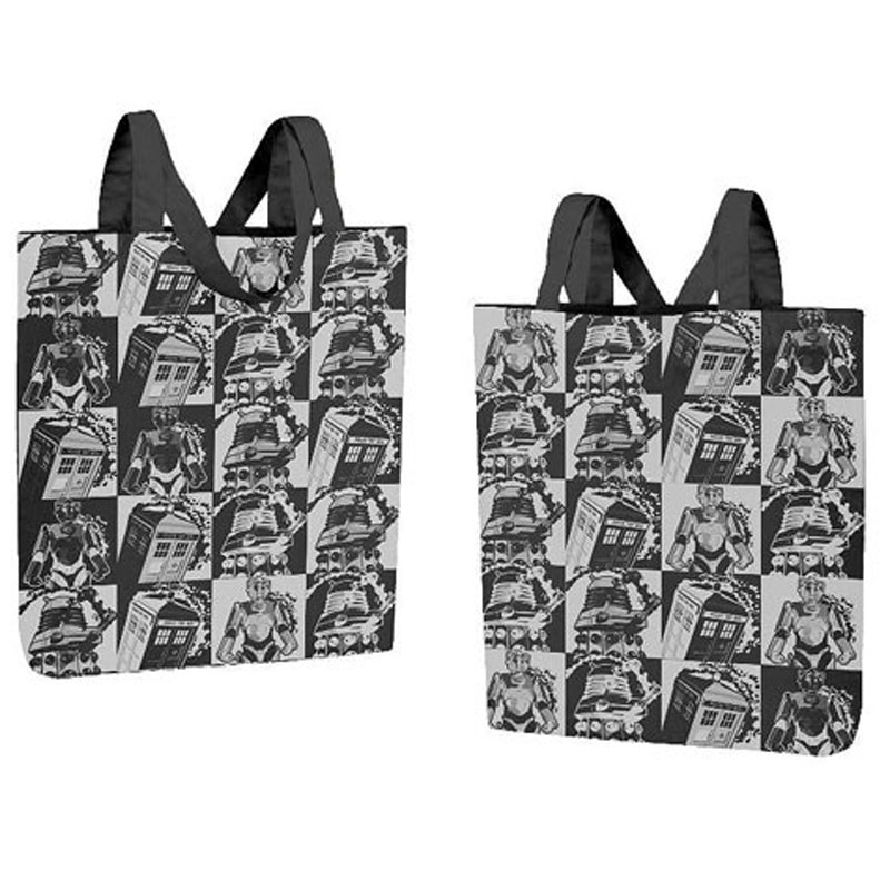 Gag Gifts - Doctor Who: Mosaic Tote Bag