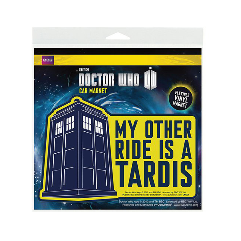 Gag Gifts - Doctor Who: My Other Ride is a Car Magnet