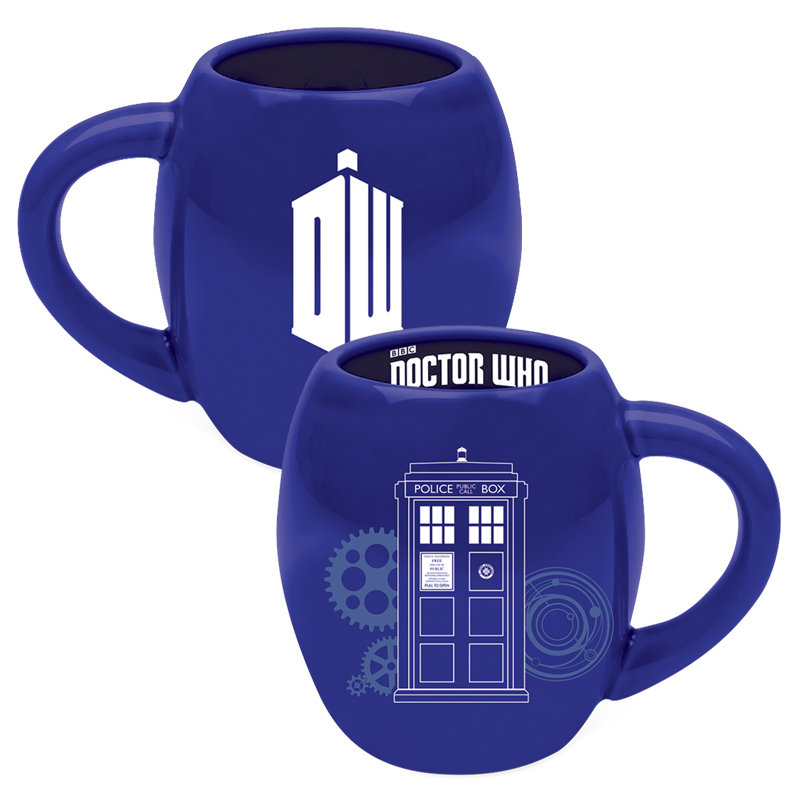 Gag Gifts - Doctor Who: Oval Ceramic Mug