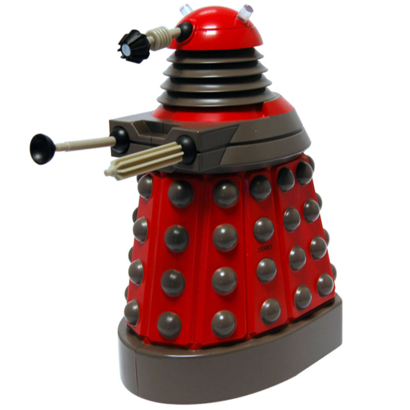 Gag Gifts - Doctor Who: Talking Money Bank, Dalek, Red