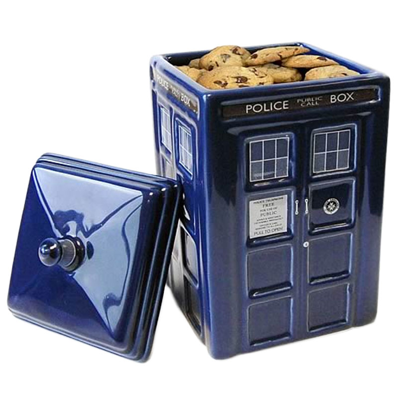 Gag Gifts - Doctor Who: Tardis Ceramic Cookie Jar