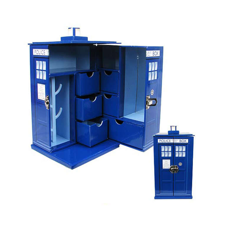 Gag Gifts - Doctor Who: Tardis Jewlery Box