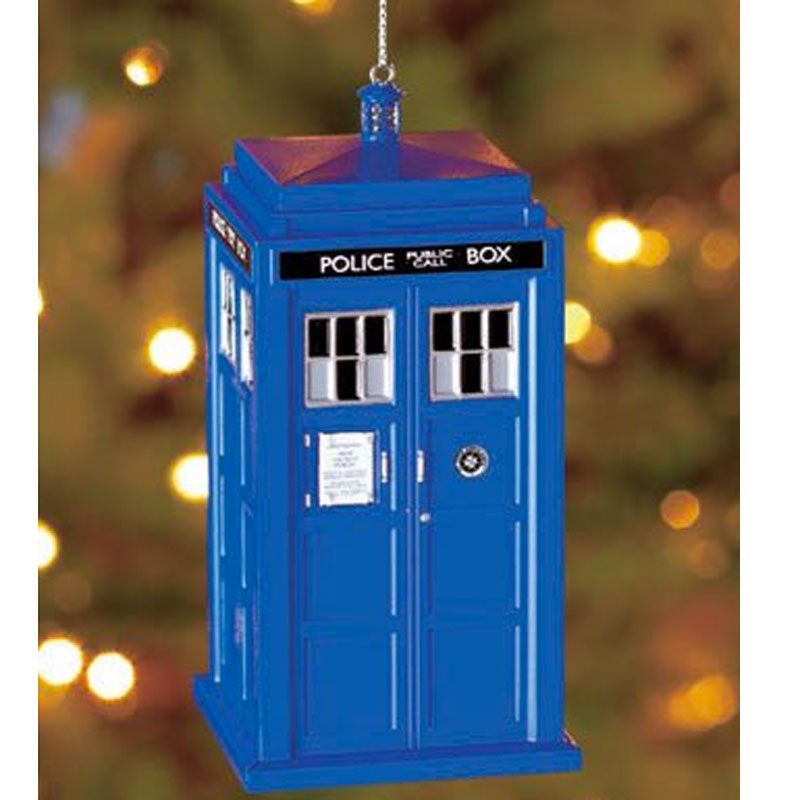 Gag Gifts - Doctor Who: Tardis Ornament