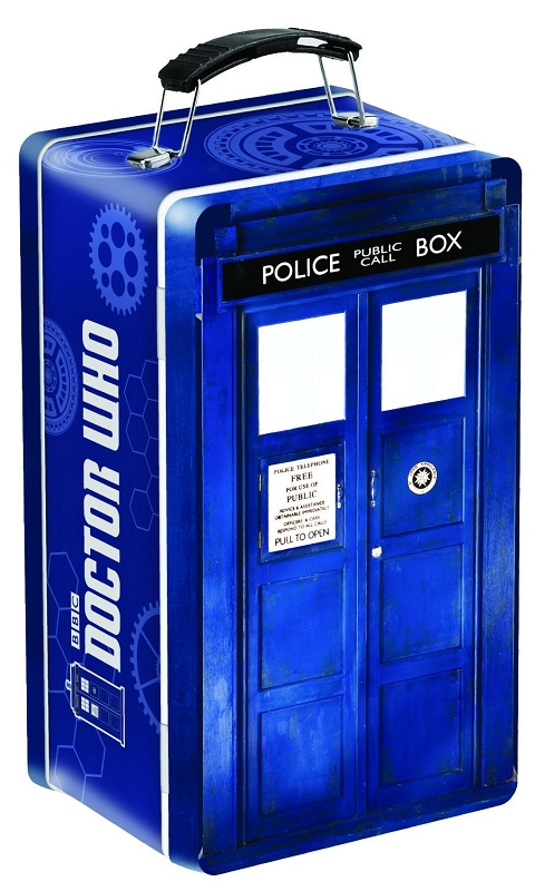 Gag Gifts - Doctor Who: Tardis Shaped Tine Tote