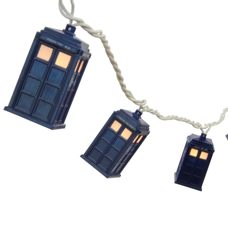 Gag Gifts - Doctor Who: Tardis String Lights