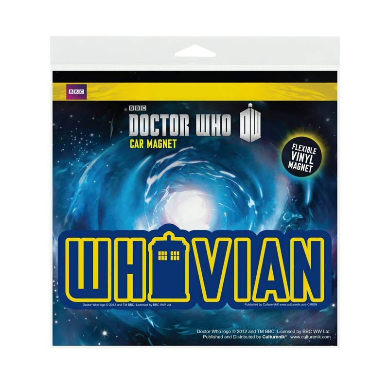 Gag Gifts - Doctor Who: Whovian Car Magnet
