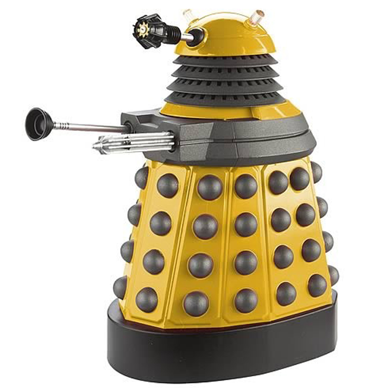 Gag Gifts - Doctor Who: Wind Up Dalek, yellow