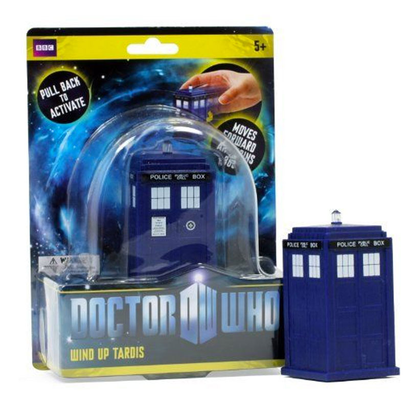 Gag Gifts - Doctor Who: Wind Up Tardis Toy