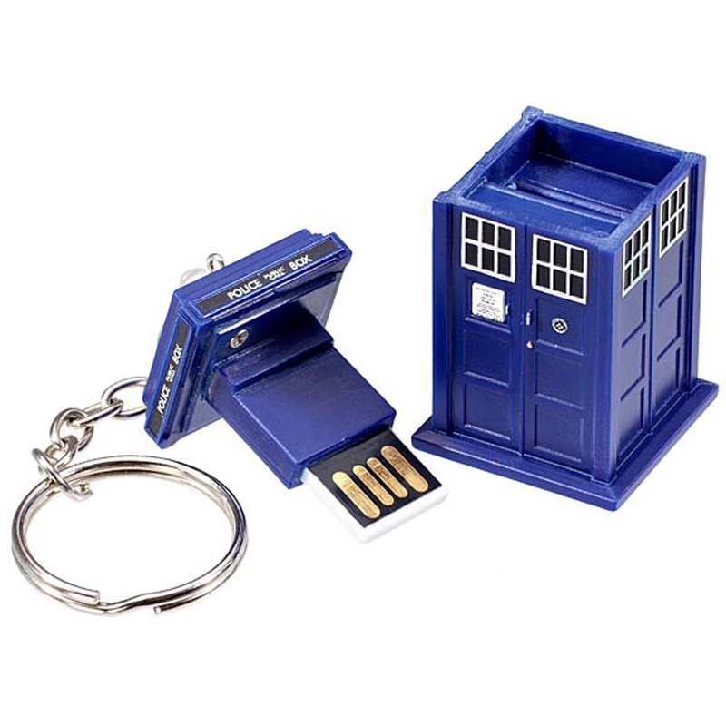Gag Gifts - Doctor Who 4GB TARDIS Flash Drive