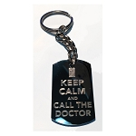 Doctor Who Key Ring: Keep Calm