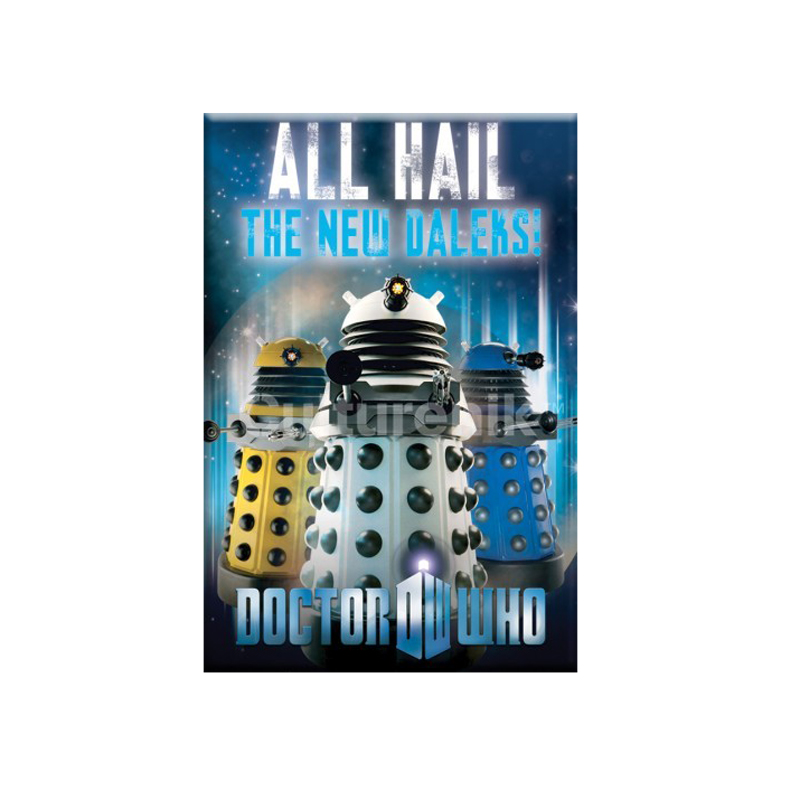 Gag Gifts - Doctor Who Magnet: All Hail the New Daleks