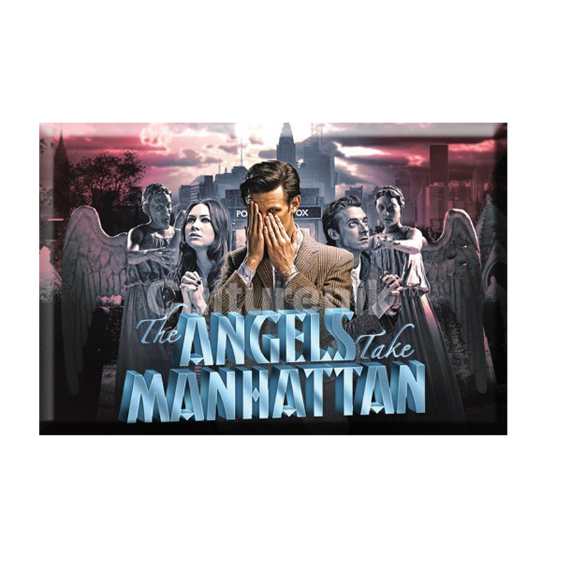 Gag Gifts - Doctor Who Magnet: Angels Take Manhattan