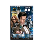 Doctor Who Magnet: Collage