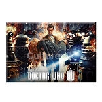 Doctor Who Magnet: Flames