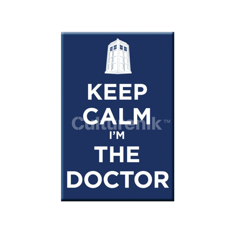 Gag Gifts - Doctor Who Magnet: Keep Calm