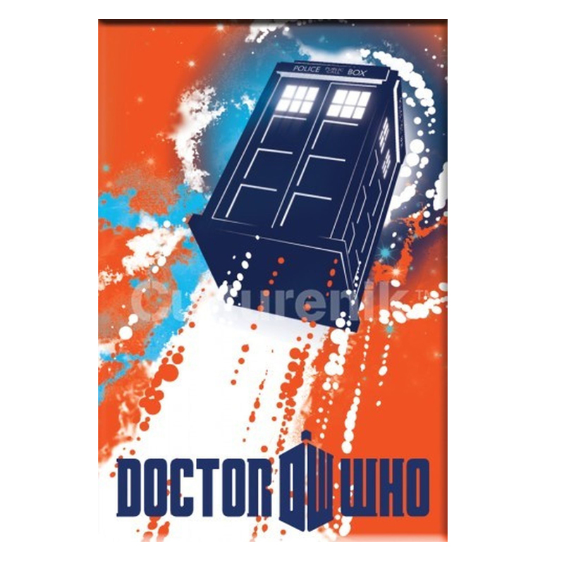 Gag Gifts - Doctor Who Magnet: Tardis Taking Off
