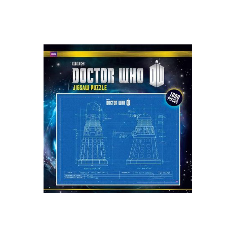 Gag Gifts - Doctor Who Puzzle: Blueprint