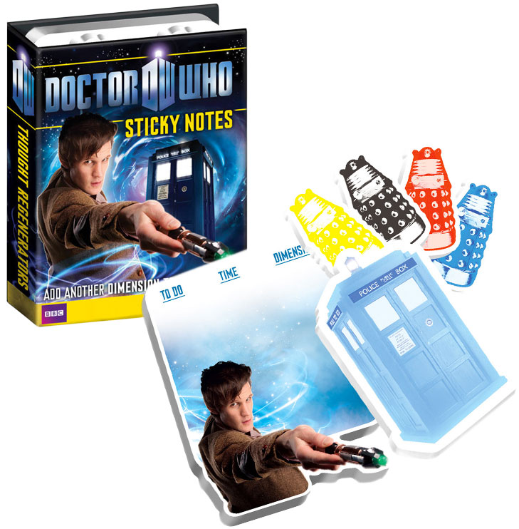 Gag Gifts - Doctor Who Sticky Notes