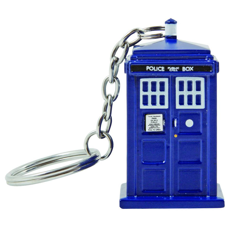 Gag Gifts - Doctor Who TARDIS Keychain