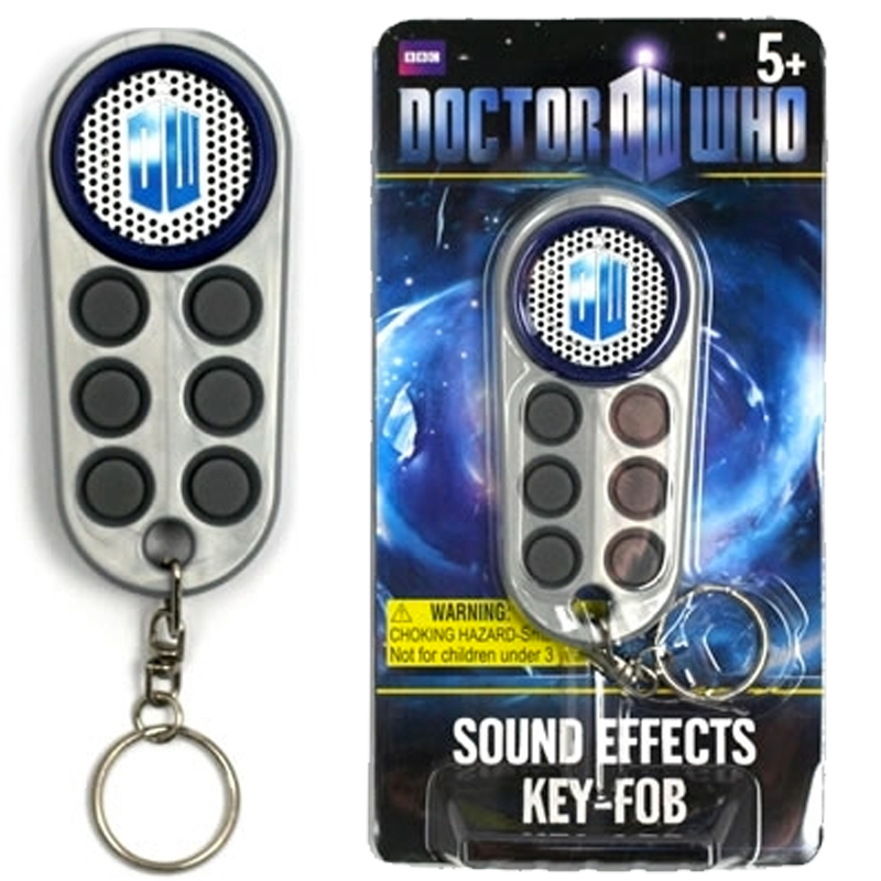Gag Gifts - Doctor Who Talking Keychain