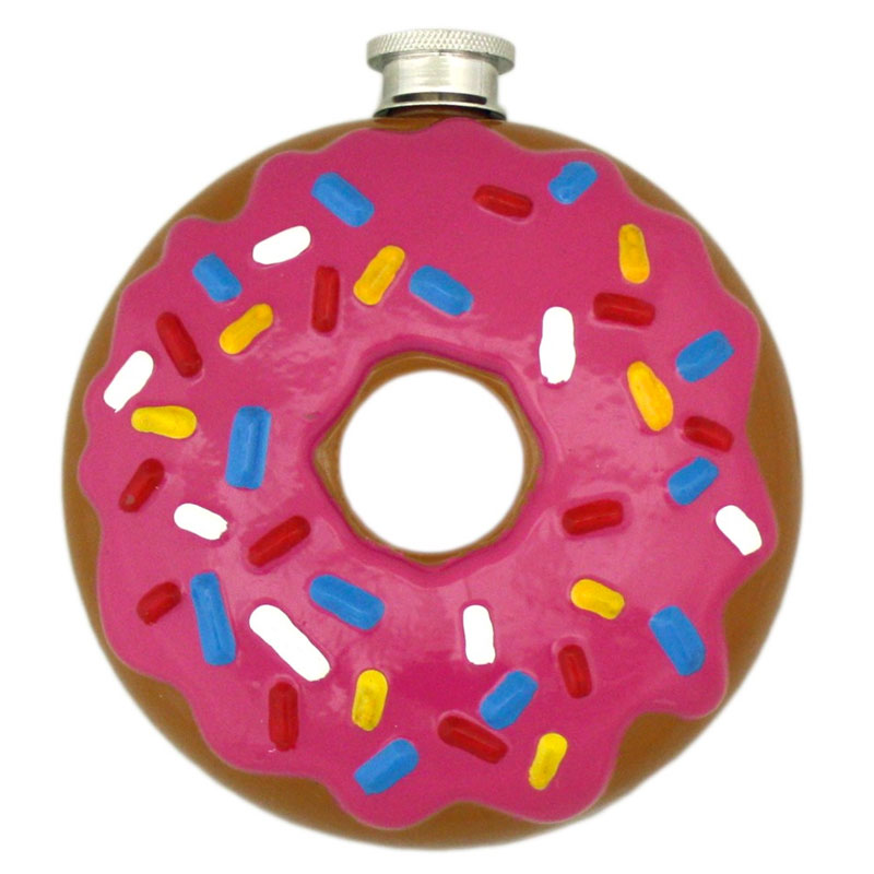 Gag Gifts - Donut Flask
