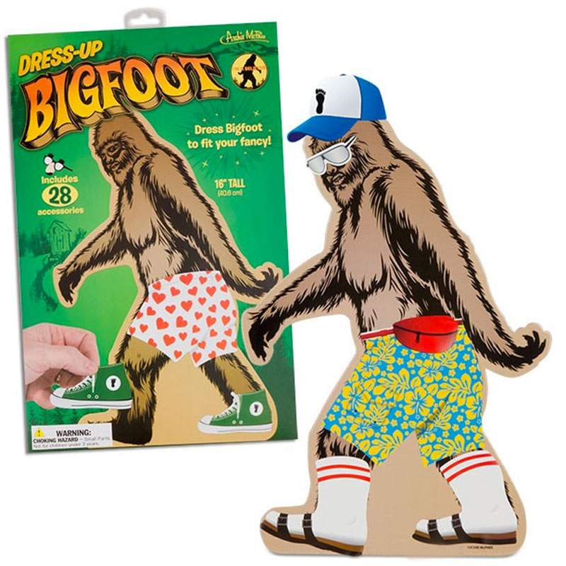 Gag Gifts - Dress Up Bigfoot Set