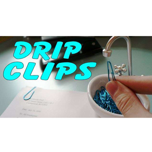 Gag Gifts - Drip Clips Paper Clip Sink